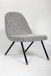 fotel klubowy retro, lata 60.