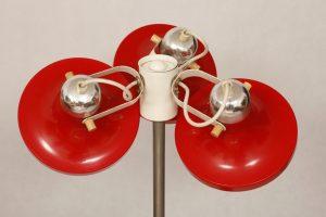 lampa podłogowa Kuspi, vintage, NRD, lata 60.