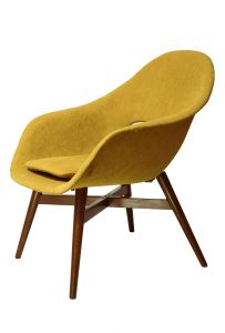 fotel retro, Miroslav Navratil, lata 60.