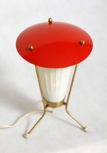 nocka lampka vintage, DDR, 60s.