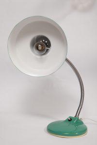 lampka biurkowa, vintage, prl, lata 80.