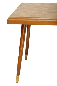 dębowa ława stolik vintage, lata 60.