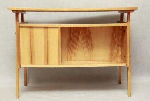 polskie biurko retro z Koronowa, lata 70.