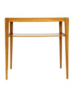 palisandrowy stolik pomocnik, retro, lata 60.