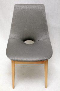 krzesła retro, vintage, ład, Hanna Lachert, prl, lata 50.