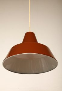 lampa, louise poulsen, lata 60.