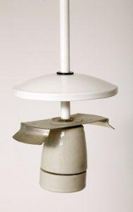polska lampa kula, lata 70.