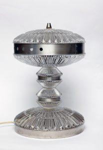 polam, prl, lampa biurkowa retro, lata 60.