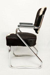 fotel bauhaus, Paul Schuitema, vintage, lata 30.