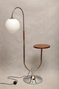 robert slezak, bauhaus, lampa podłohowa vintage, ikona, design, lata 30. reedycja.