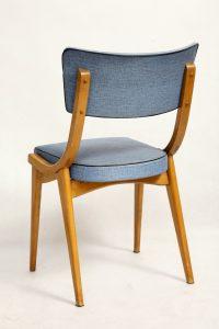 krzesło vintage, retro, prl, ddr, lata 70.