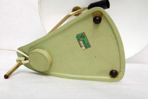 vintage lampka biurkowa philips, lata 60.