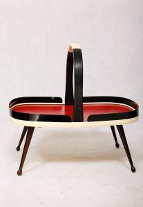 koszyk, stolik, pomocnik, lata 60.