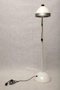 medyczna, zabiegowa, polska lampa podłogowa, vintage, industrial, loft, lata 50., prl
