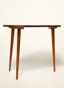 stolik kawowy vintage, retro pomocnik, lata 60.