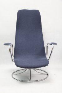 fotel vintage, lata 80, Szwecja, Ikea