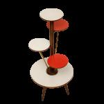 duński kwietnik, stolik kawowy, lata 60.