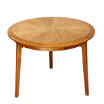drewniany stolik kawowy retro, lata 60.