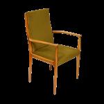 skandynawski fotel retro, lata 60.